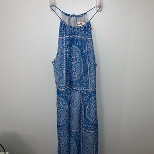 Fun blue beach dress